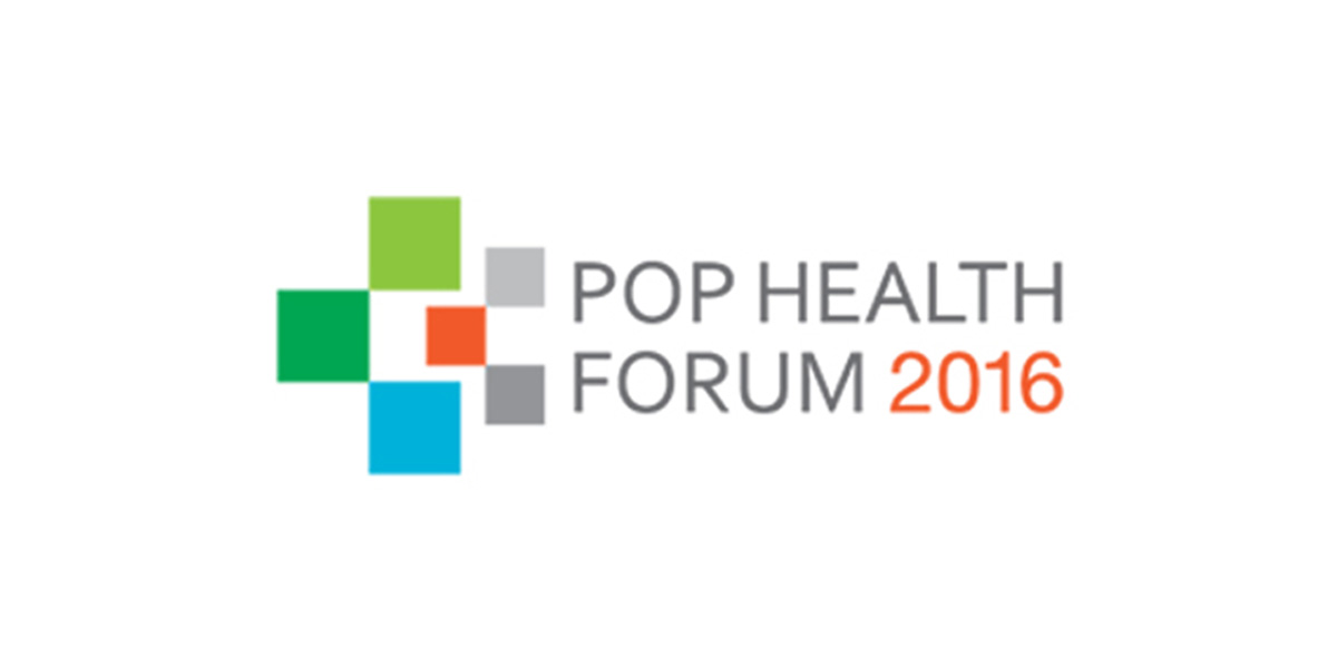 Pop Health Forum 2016