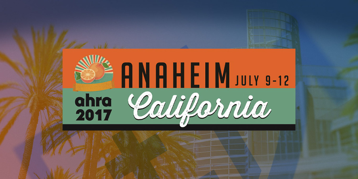 Visit us at AHRA – Anaheim, CA.