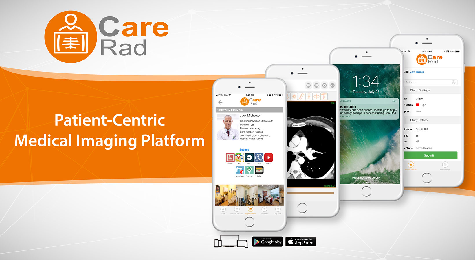 Patient-Centric Medical Imaging Platform