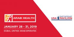 Visit us at Arab Health 2019, Booth# H1F18