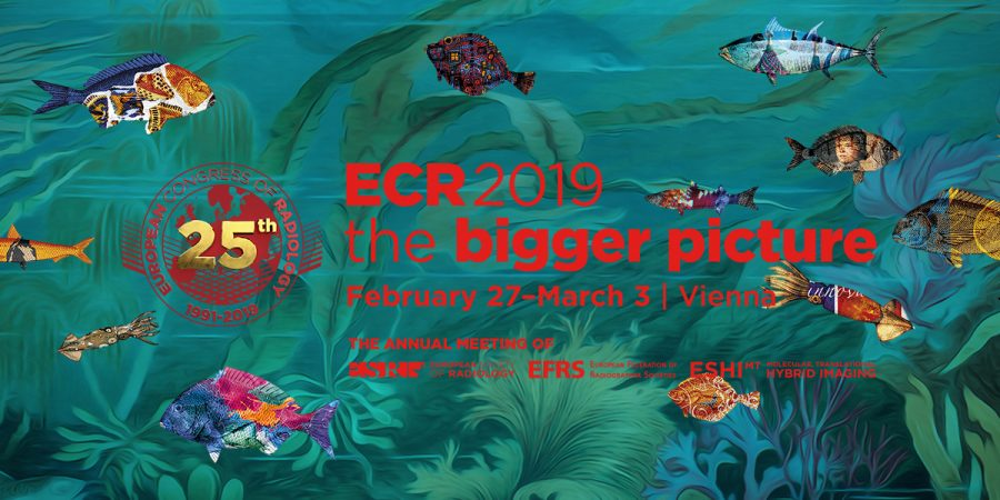 Meet us at ECR 2019 - Booth #517