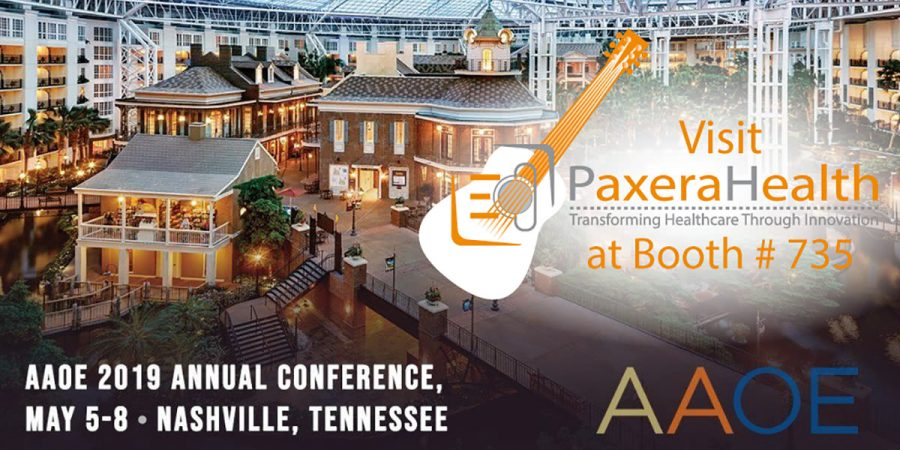 See us at AAOE19 - Booth # 735