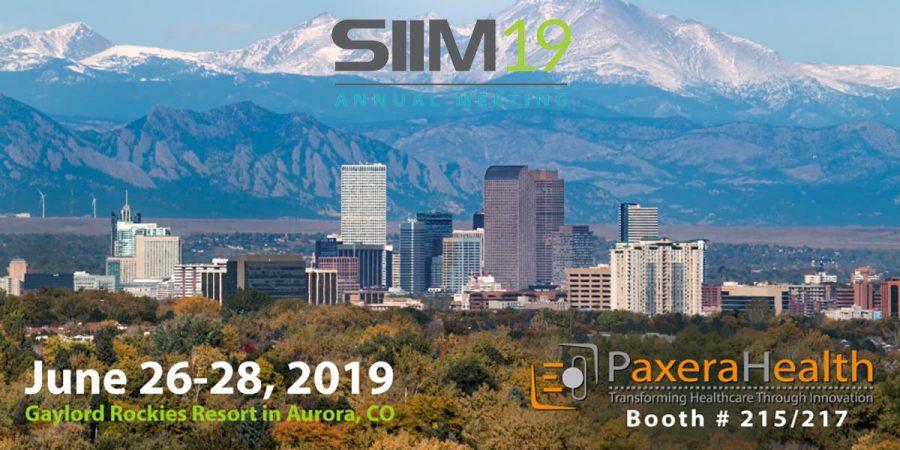 Visit us at SIIM19 – Booth #215