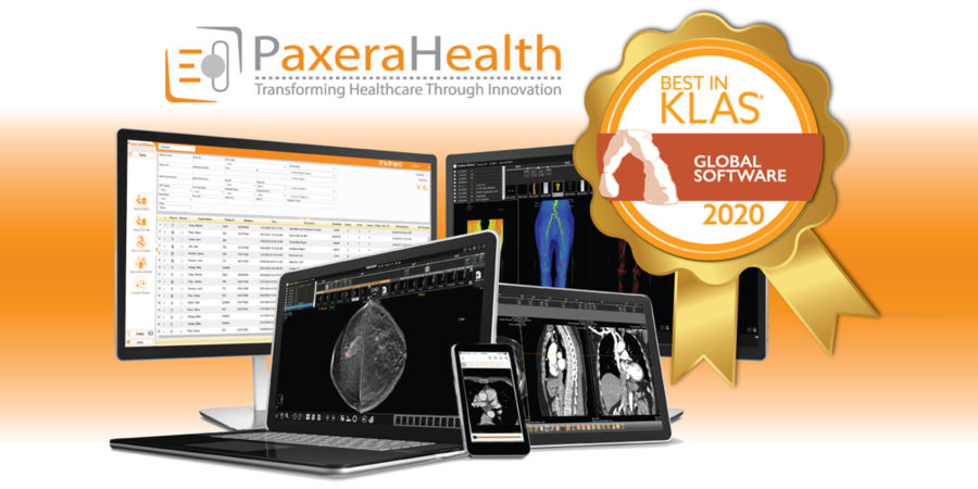 PaxeraHealth Wins 2020 Best in KLAS for Global PACS